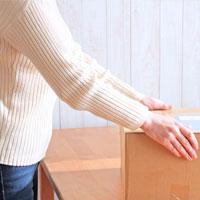 お品物を梱包するイメージ